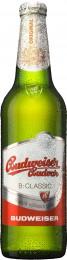 Budweiser Budvar B:classic výčepní světlé pivo - sklo