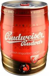 Budweiser Budvar B:original světlý ležák pivo - soudek