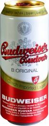 Budweiser Budvar B:original světlý ležák pivo - plech