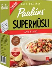 Paulúns Müsli s jablky a skořicí