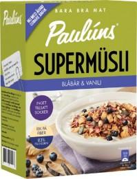 Paulúns Müsli s borůvkami a vanilkou