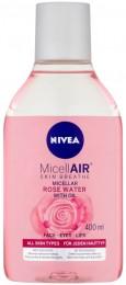 Nivea MicellAir Dvoufázová čisticí micelární voda s růžovou vodou