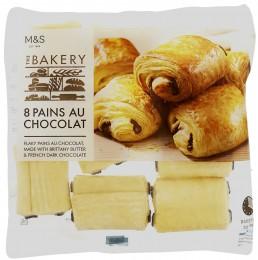 Marks & Spencer Francouzské rolky z listového těsta s čokoládou k dopečení (8ks),