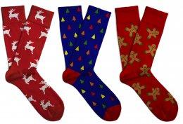 Soxit Pánský vánoční set ponožek, vel.: 41-46