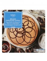 Marks & Spencer Čokoládový dort s pěnou z belgické čokolády a polevou
