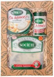 Roquefort Société dárkové balení
