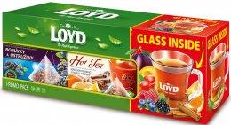 Loyd Set sklenice + Borůvka & ostružina a Hot tea Pomeranč