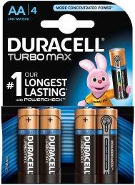 Duracell Turbo Max AA 1500 4ks