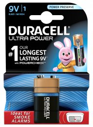 Duracell Ultra Power 9V 1K