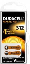 Duracell Hearing Aid 312 6ks