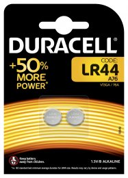 Duracell Special batteries LR 44 2ks