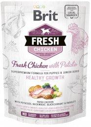 VZOREK: Brit Fresh Chicken with Potato Puppy Healthy Growth 1ks