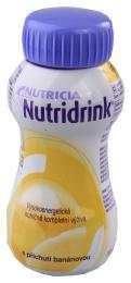 NUTRIDRINK S PŘÍCHUTÍ BANÁNOVOU perorální roztok 1X200ML