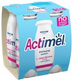 Danone Actimel bílý bez přidaného cukru 4x100g