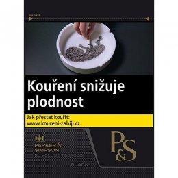 P&S Black cigaretový tabák