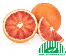 Pomeranče červené BIO, balení