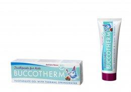 Buccotherm BIO Dětská zubní pasta bez fluoridů s příchutí lesního ovoce