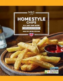 Marks & Spencer Předsmažené bramborové hranolky v těstíčku k dopékání