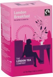 The London Tea Company Fairtrade černý čaj London Breakfast