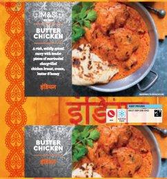 Marks & Spencer Jemně pálivé curry s kuřecím masem