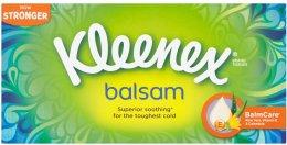 Kleenex Balsam papírové kapesníky 3vrstvé box 72ks