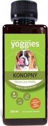 Yoggies za studena lisovaný konopný olej pro psy a kočky
