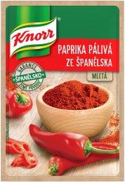 Knorr Paprika pálivá ze Španělska mletá