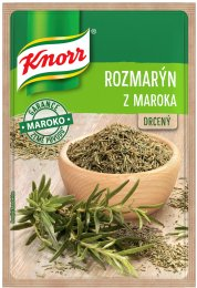 Knorr Rozmarýn z Maroka drcený