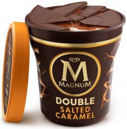 Magnum Double Salted Caramel zmrzlina v kelímku