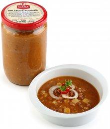 Sláma Gulášová polévka