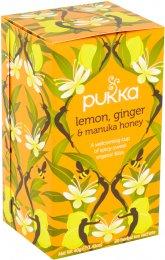 Pukka BIO Čaj Lemon, Ginger & Manuka Honey
