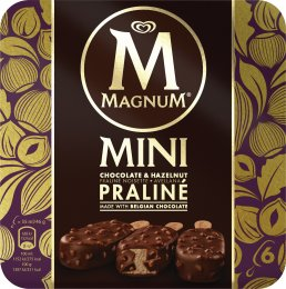 Magnum Praliné zmrzlina 6 x 55 ml