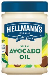 Hellmann's Omáčka majonézového typu s avokádovým olejem