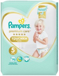 Pampers Premium Pants Carry Pack (velikost 5) 20 ks
