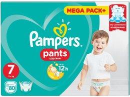 Pampers Pants Mega Pack+, 17+kg (velikost 7) 80 ks