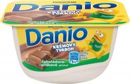 Danone Danio krémový tvaroh čokoláda s oříšky