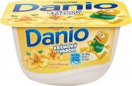 Danone Danio krémový tvaroh s vanilkovou příchutí
