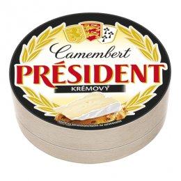 Président Camembert Krémový ve dřevě