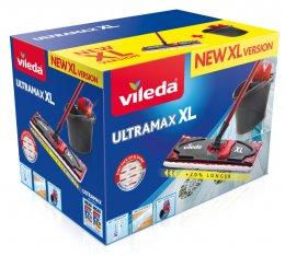 Vileda Ultramax XL set BOX obsahuje plochý mop a kýbl se ždímacím košem