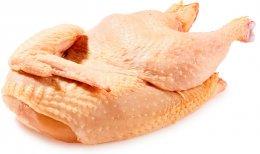 Kuře z Hrádku půlka