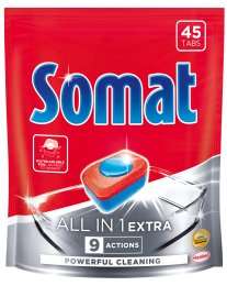 Somat All in One Extra tablety do myčky 45ks
