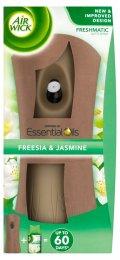 Airwick Essential Oils Freshmatic difuzér a náplň do osvěžovače vzduchu bílé květy frézie