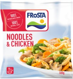 Frosta Noodles and chicken