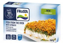 Frosta Labužnické rybí filé se špenátem