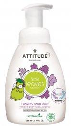 Attitude Little leaves Dětské pěnivé mýdlo na ruce s vůní vanilky a hrušky