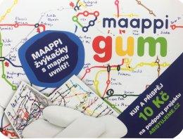 Maappi Žvýkačky Orbit s mapou uvnitř