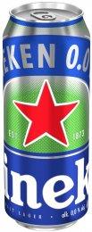 Heineken 0,0% pivo světlé nealkoholické plech