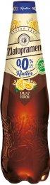 Zlatopramen Radler 0,0% Tmavý citrón pivo ochucené nealkoholické PET