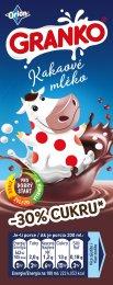 Orion Granko ochucené mléko kakaové