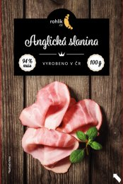 Rohlik.cz Anglická slanina